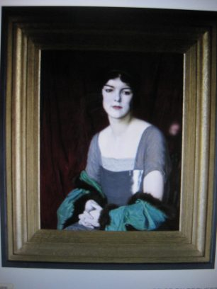 The Green Cloak by William Strang | Liss Llewellyn Fine Arts