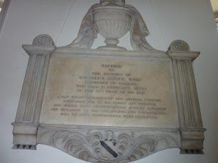 The Binny Memorial | L F Matthews