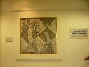 The Annunciation, in St John and Elizabeth hospital | Louise Brodie 2011