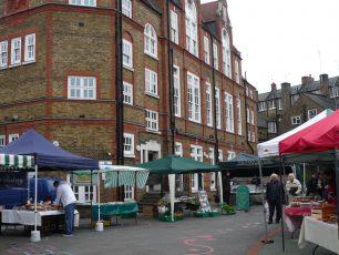 Farmers market, Barrow Hill School 2012 | Louise Brodie