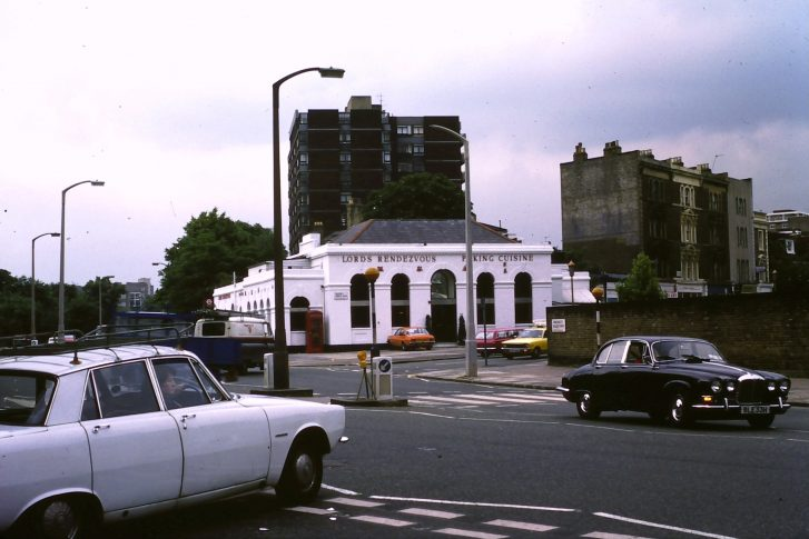 formerly Marlborough Road Station at corner of 'Queens Grove