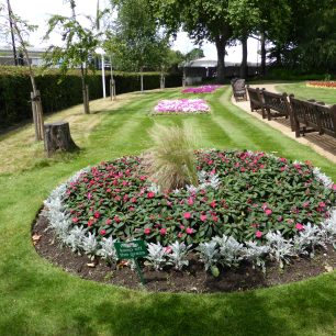 Part of the church gardens, previously the cemetery | Louise Brodie