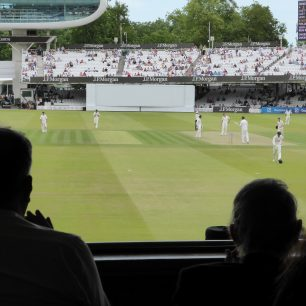 MCC vs Hertfordshire, a replay of the original match   200 years on, seen from the Pavilion | Louise Brodiie