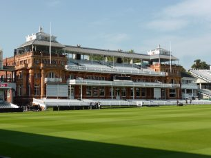 The Pavilion at Lord's   Louise Brodie