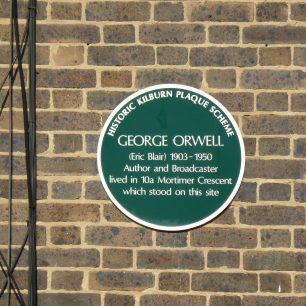 Orwell plaque | Louise Brodie