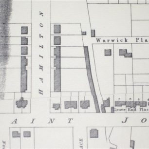 Peter Potter map 1827