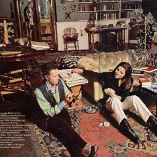 Philip Saville and Diana Rigg
