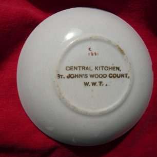 Butterdish from St John's Wood Court   Louise Brodie