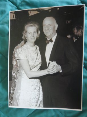 Polly and Brian Johnston in the 1960s | Louise Brodie