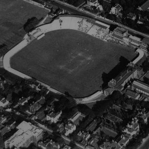 A match at Lord's with Elm Tree Road houses and flats