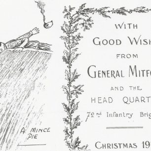 Christmas card received by W . Geere 1915 | The Geere family