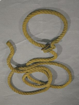 Rope used to hang Mary Pearcey
