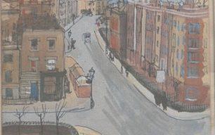 Wartime paintings by Olga Lehmann