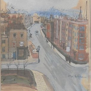 Charlbert Street circa 1940   Dr John Stabler
