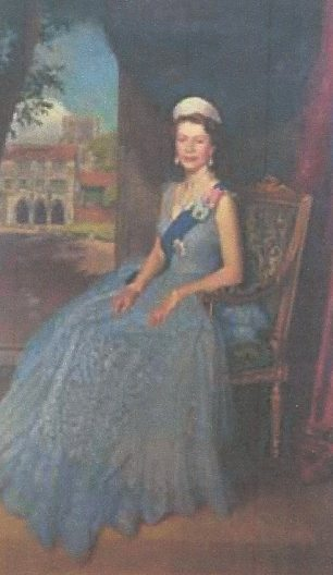 The Queen by Edward Halliday