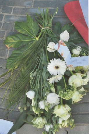Flowers sent by the History group to the ceremony in Holland | Peter den Teck