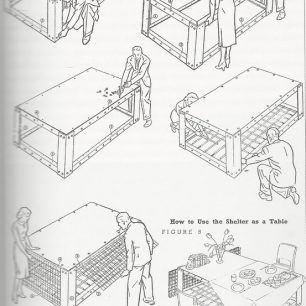 How to put up a Morrison shelter