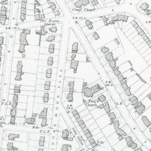 Site of Avenue Lodge at end of 19th century | Westminster Archives