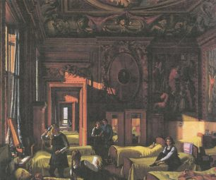 Chatsworth in Wartime by Edward Halliday