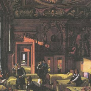Jean Reddaway in Chatsworth in Wartime by Edward Halliday