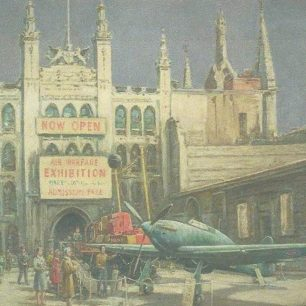 A Hurricane at the Guildhall by Frank Beresford