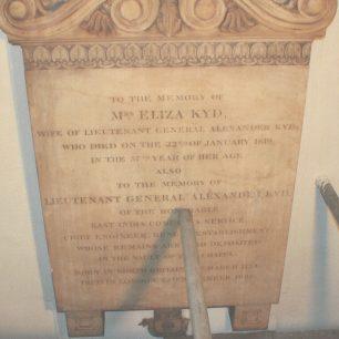 Mrs Eliza Kyd and Lieut Gen Alexander Kyd