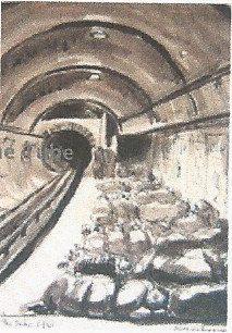 The Tube shelter - Olga Lehman