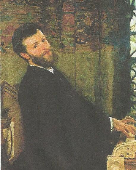 George Henschel  Laurence Alma Tadema