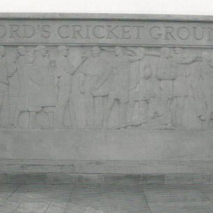 Bayes Sculpture at Lord's