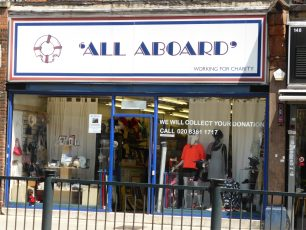 All Aboard shop, 150 Finchley Road | Louise Brodie