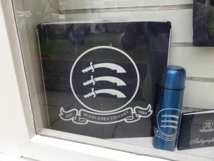 Middlesex Cricket Club insignia | Louise Brodie