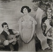 Dora Labette with David and William Strang painted by William Strang   Jeanne Strang