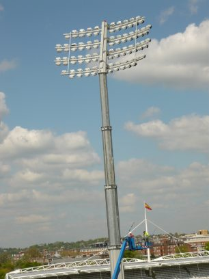 New floodlights 2009 | Louise Brodie