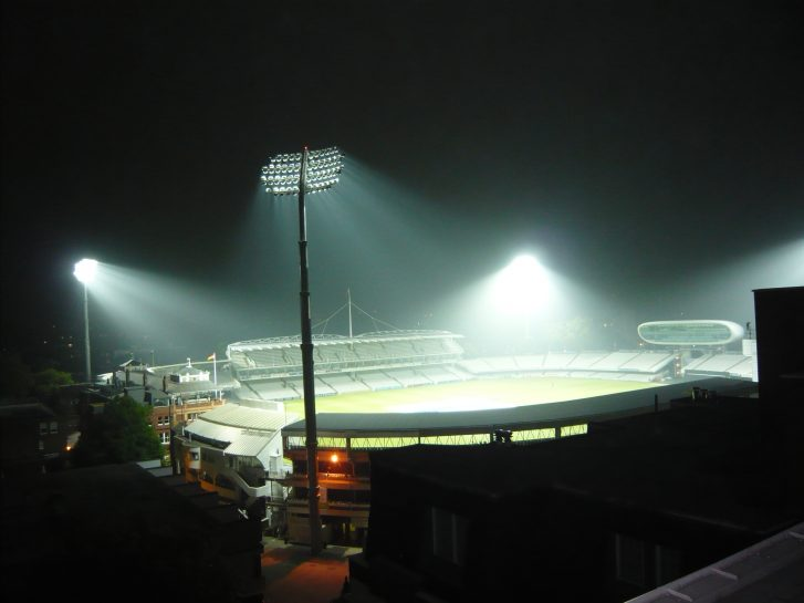 New floodlights by night 2009 | Louise Brodie