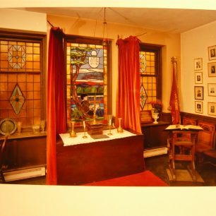 Inside the Mansergh-Woodhall Hall, 2009