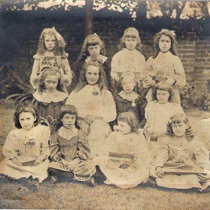 My grandmother bottom left   Beryl Malcolm