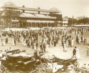 Scene of crowd
