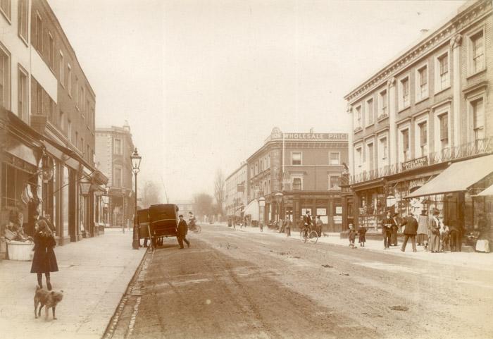 St John's Wood High Street   Copyright Westminster City Archives
