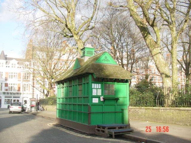 Cabmen's Shelter. Cochrane Street   Jane Leaver