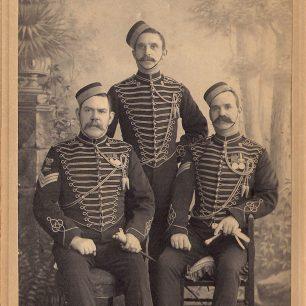 Three Symonds Brothers   Beryl Malcolm