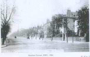 Hamilton Terrace in the Twentieth Century