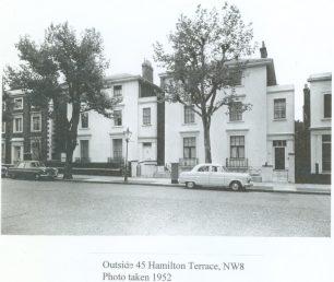 45 Hamilton Terrace 1952