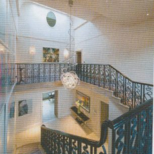 Staircase in detached house