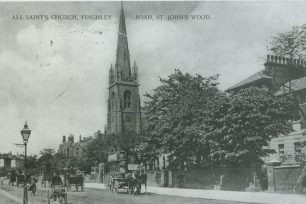 All Saints church and the Finchley Road | Westminster Archives