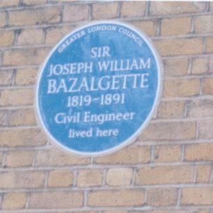 Bazalgette plaque   Jeanne Strang