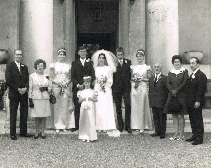 Robert John Brown and Angela Isaac 25 May 1970 | Robert Browns