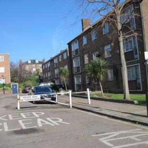 Post war flats in Aquila Street | Bridget Clarke