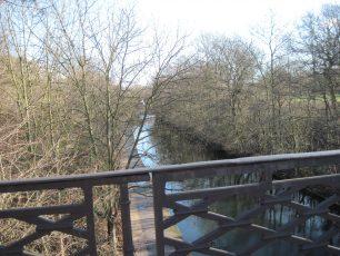 Canal under the new bridge | Bridget Clarke