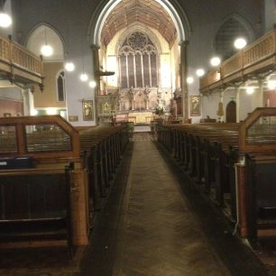 St Mark's interior | Bridget Clarke