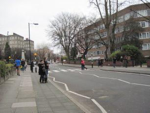 Abbey Road crossing | Bridget Clarke